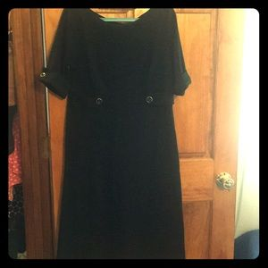 LBD - looks great on.  Tapered waist.